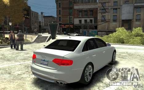 Audi S4 2010 v.1.0 para GTA 4 vista direita