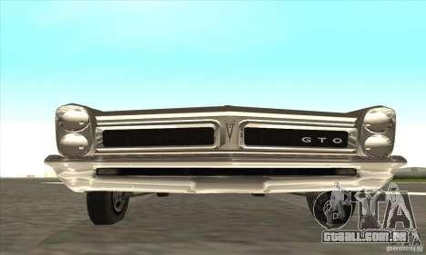 Pontiac GT-100 para GTA San Andreas esquerda vista
