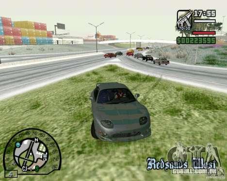 Mitsubishi FTO Stock para GTA San Andreas esquerda vista