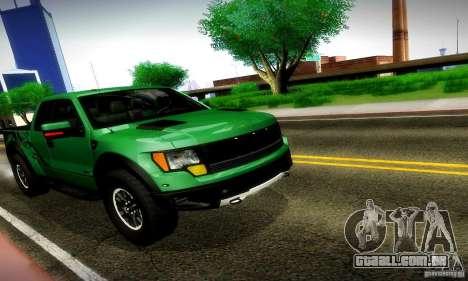 Ford F-150 SVT Raptor V1.0 para GTA San Andreas esquerda vista