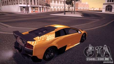 Enb Series v5.0 Final para GTA San Andreas segunda tela