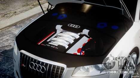 Audi S8 D3 2009 para GTA 4 vista direita