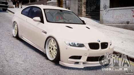 BMW M3 Hamann E92 para GTA 4 vista lateral