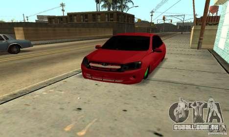 Lada Granta Dag Style para GTA San Andreas vista traseira