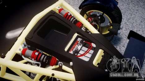 Ariel Atom 3 V8 2012 para GTA 4 vista de volta