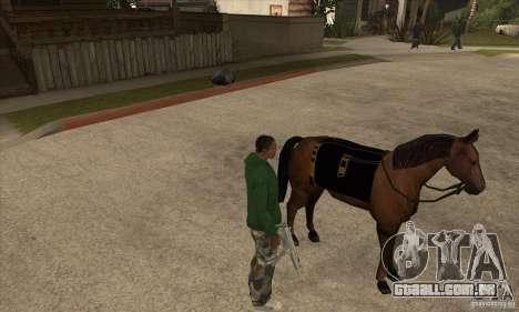 Cavalo para GTA San Andreas segunda tela