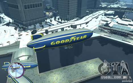 Dirigível para GTA 4 esquerda vista