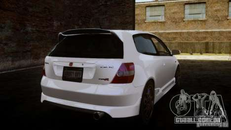 Honda Civic Type-R (EP3) para GTA 4 esquerda vista