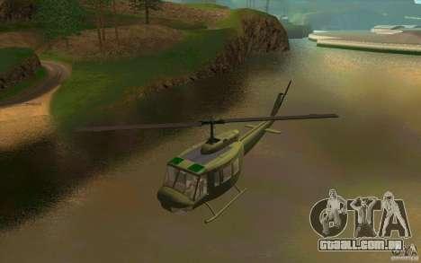UH-1D Slick para GTA San Andreas