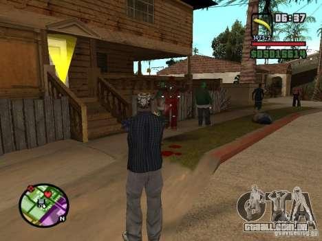 Bunana Gun para GTA San Andreas segunda tela