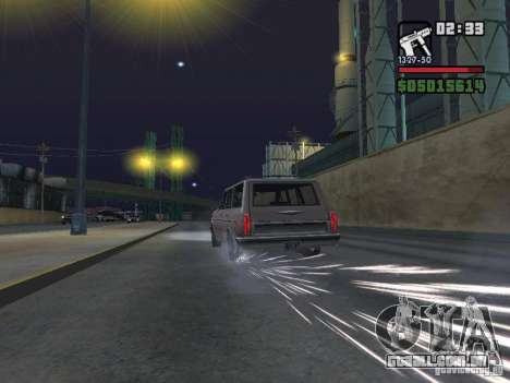 New Realistic Effects para GTA San Andreas oitavo tela