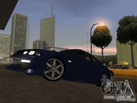 Nissan Skyline R33 SGM para GTA San Andreas esquerda vista