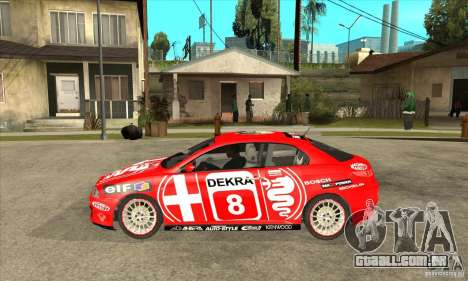 Alfa Romeo GT para GTA San Andreas esquerda vista