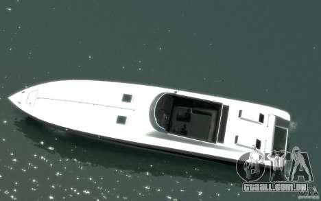 New Jetmax para GTA 4 esquerda vista