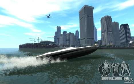 New Jetmax para GTA 4 traseira esquerda vista
