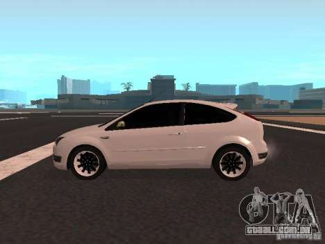 Ford Focus II para GTA San Andreas esquerda vista