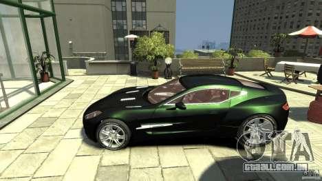 Aston Martin One-77 [EPM] para GTA 4 esquerda vista