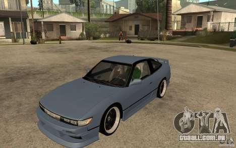 Nissan Silvia80 - EMzone Edition para GTA San Andreas