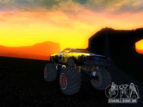 Fire Ball Paint Job 2 para GTA San Andreas esquerda vista