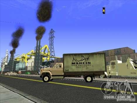 Yankee baseado no GMC para vista lateral GTA San Andreas