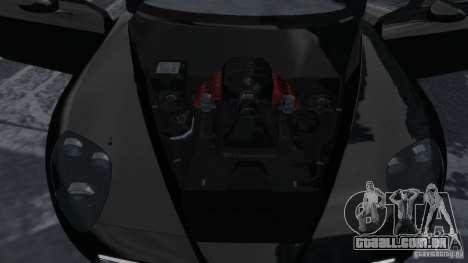 Alfa Romeo 8C Competizione Spider v1.0 para GTA 4 vista interior