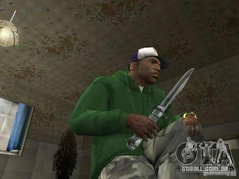 Pak domésticos armas V2 para GTA San Andreas sétima tela