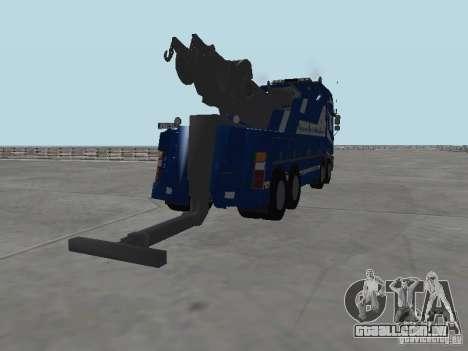 HOMEM F2000 (com roteiro de CLEO) para GTA San Andreas interior