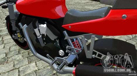 Suzuki Street Fighter Custom para GTA 4 vista direita