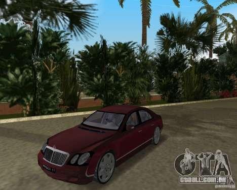 Maybach 57 para GTA Vice City deixou vista