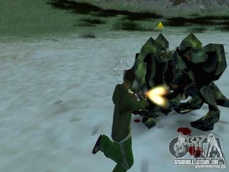 Monstros debaixo d'água para GTA San Andreas sexta tela