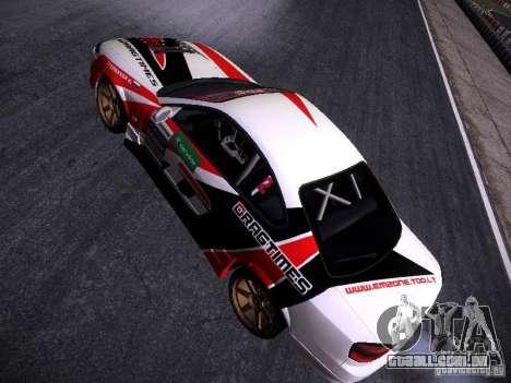 Nissan Silvia S15 DragTimes v2 para GTA San Andreas vista traseira