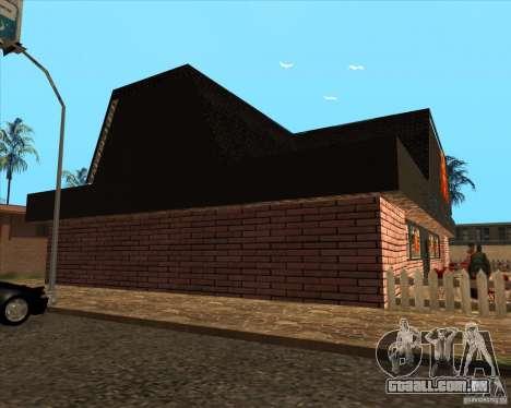 Nova pizzaria em IdelWood para GTA San Andreas terceira tela