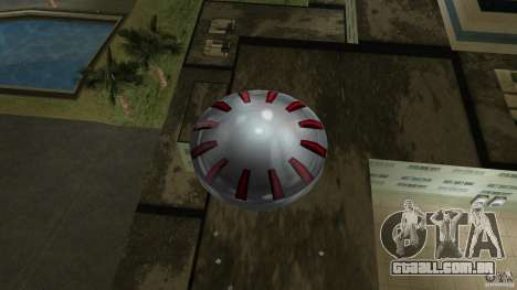 Ultimate Flying Object para GTA Vice City vista traseira
