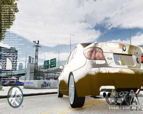 BMW M5 e60 para GTA 4 traseira esquerda vista