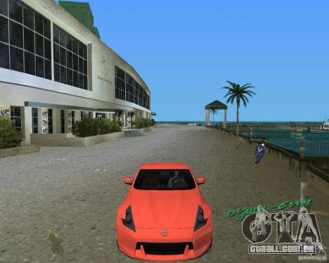 Nissan 370Z para GTA Vice City deixou vista