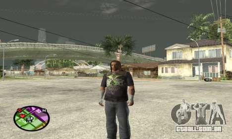 Triple H para GTA San Andreas segunda tela
