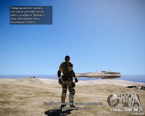 Chris from Resident Evil 5 para GTA 4 sétima tela