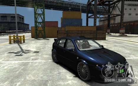 Seat Leon Cupra R para GTA 4 vista de volta
