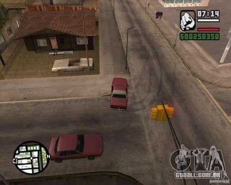 Câmera como em GTA Chinatown Wars para GTA San Andreas nono tela