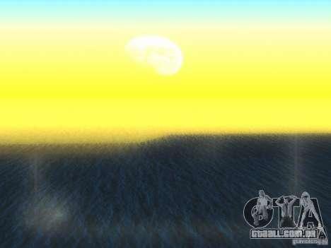 Água de HQ para GTA San Andreas segunda tela