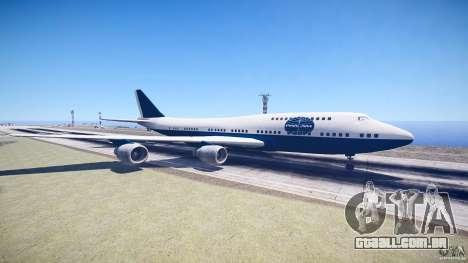 Pan Am Conversion para GTA 4 esquerda vista