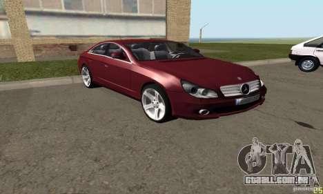 Mercedes-Benz CLS500 v2 para GTA San Andreas