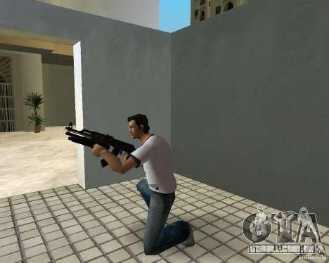 AK-47 com espingarda Underbarrel para GTA Vice City sexta tela