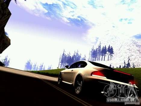 BMW M6 MotoGP SafetyCar para GTA San Andreas vista direita