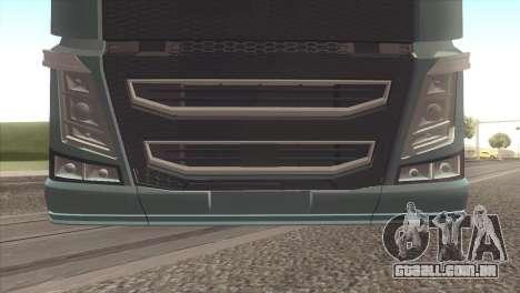 Volvo FH 2013 para GTA San Andreas vista direita