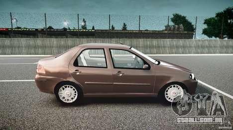Fiat Albea Sole (Bug Fix) para GTA 4 vista de volta