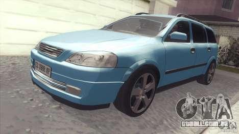 Opel Astra 1999 para GTA San Andreas vista direita