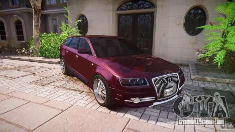 Audi A6 Allroad Quattro 2007 wheel 1 para GTA 4 rodas