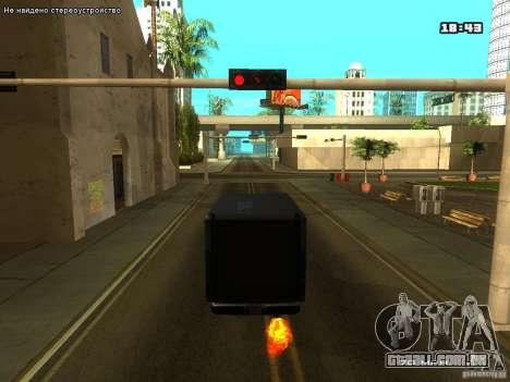 ENB para laptops para GTA San Andreas terceira tela