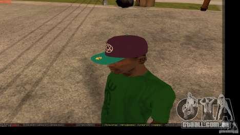 Boné de beisebol com o logotipo da banda HIM para GTA San Andreas